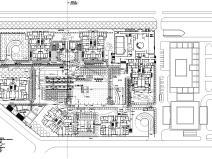 [上海]上海市华庭嘉园居住区全套园建景观施工图设计(CAD)
