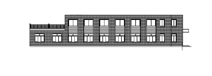 某公司食堂建筑CAD施工图(含大样详图)