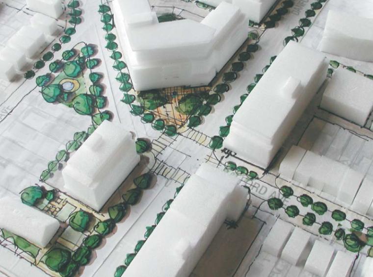 多伦多丹佛斯大街设计方案(英文)(PDF+88页)-手绘图