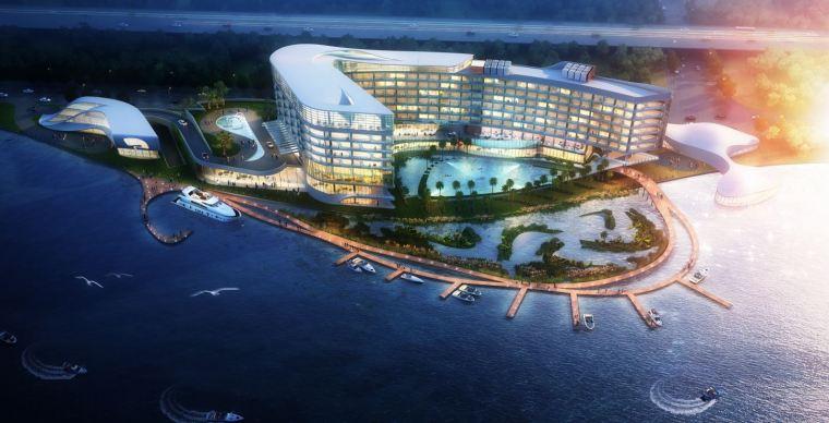 [江西]九江八里湖滨湖酒店建筑设计方案文本