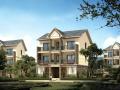 美式新农村3层独栋别墅建筑设计施工图(含全套CAD图纸)