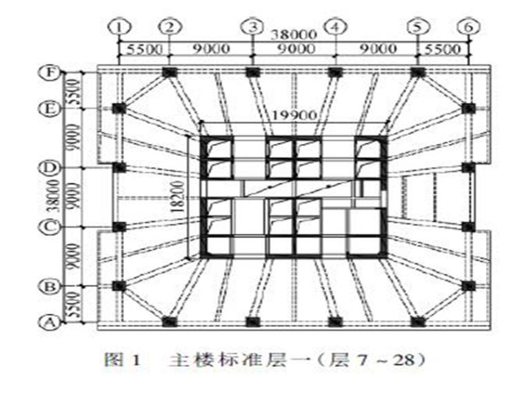 苏州中润广场主楼动力弹塑性时程分析