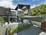 热带住宅与自然环境间相结合