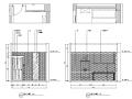 [新疆]竹林自然风茶室空间设计施工图(附效果图)