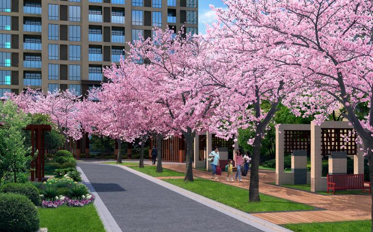 冠领园林商业地产设计:贵州林达阳光城_4