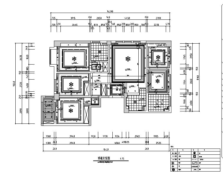 欧式风格陈生住宅别墅设计施工图(附效果图+软装配置)