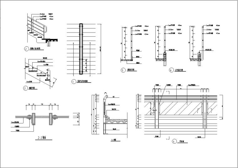 3套现代宾馆酒店建筑设计施工图CAD_14