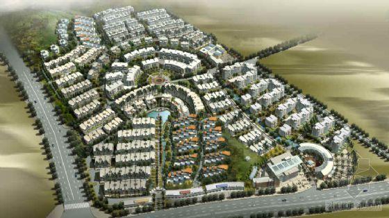 [广东]高级住宅区环境景观规划设计方案