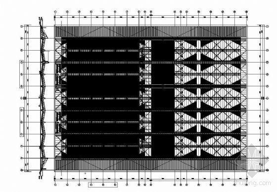 某大型屋面建筑构造图