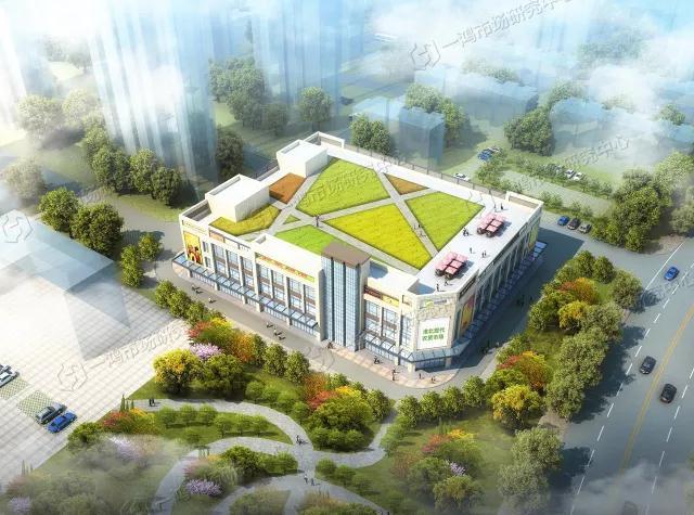 安徽农贸市场设计案例丨安徽淮北现代农贸市场