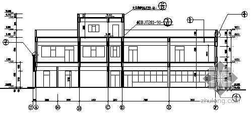 某企业厂区规划配套建筑施工图