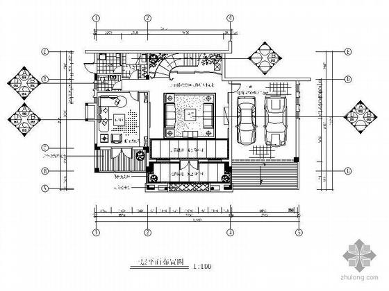三层别墅样板房装修图