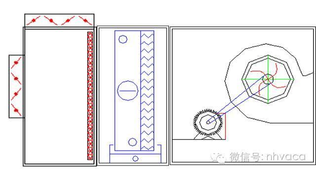 暖通初学者不要急,不同使用分类的空调箱功能段排布来啦!_4