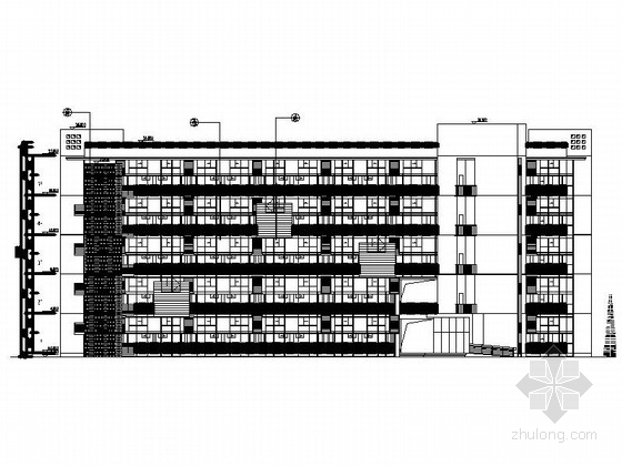 [上海]高层复式loft住宅建筑施工图(含效果图)