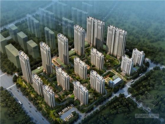 [福建]现代风格高层住宅小区规划设计方案文本