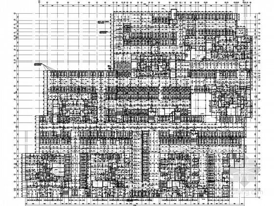 [云南]4万平米2层防空地下室给排水施工图纸