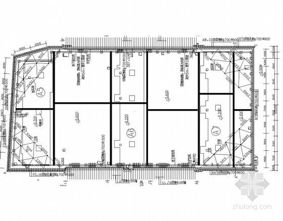 深基坑复合土钉墙支护结构详图(3种支护)
