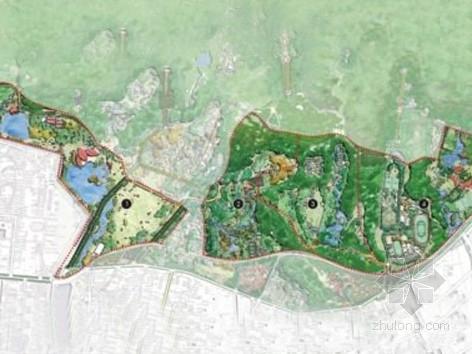 [南京]花园型城市风景区景观规划设计方案