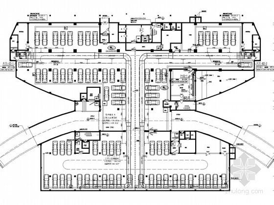[浙江]办公建筑空调通风及防排烟系统设计施工图(变冷媒流量空调系统)
