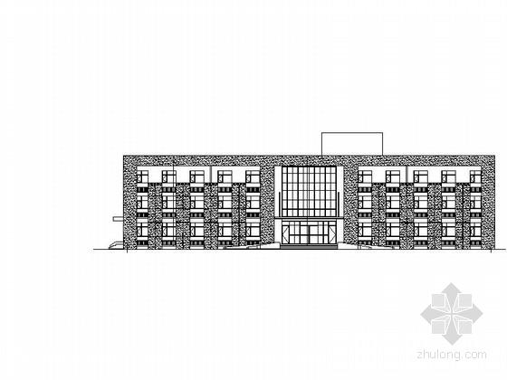 [河北]3层机械制造厂员工办公楼及宿舍楼建筑施工图