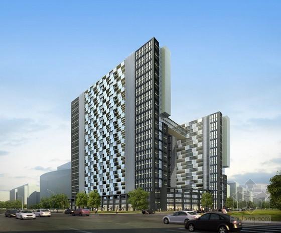 [湖南]2014年办公楼建设项目工程量清单计价实例(含全套图纸)