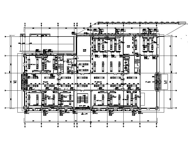 北京昌平区招商酒店暖通设计施工图(CAD+PDF)