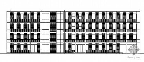 某高科孵化1号楼建筑方案图