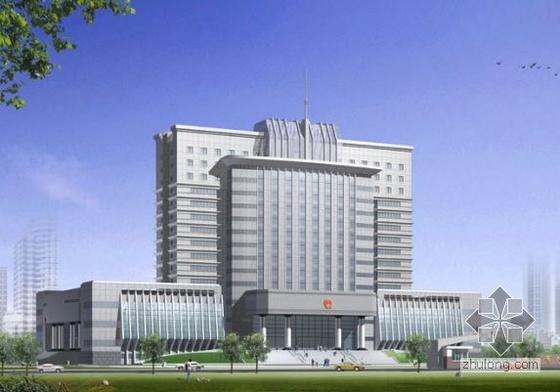 [许昌]某市中级法院审判庭综合楼建筑施工图-4
