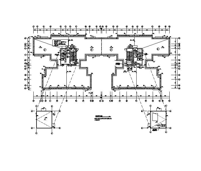 24层商住楼电气施工图