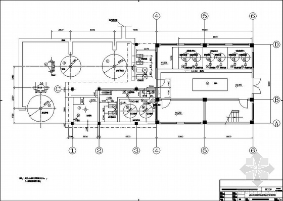某电厂脱硫废水处理系统图纸