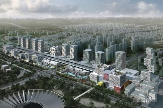 [广东]现代风格商业区规划及单体设计方案文本
