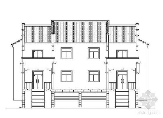 [皖南风格]并联式新农村住宅方案带效果图