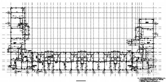 唐山某12层剪力墙U型住宅结构施工图
