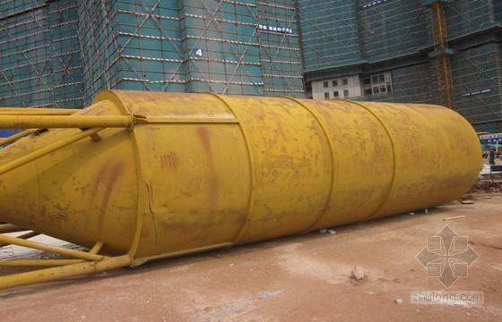 [广东]住宅楼装修阶段80T散装水泥罐施工方案