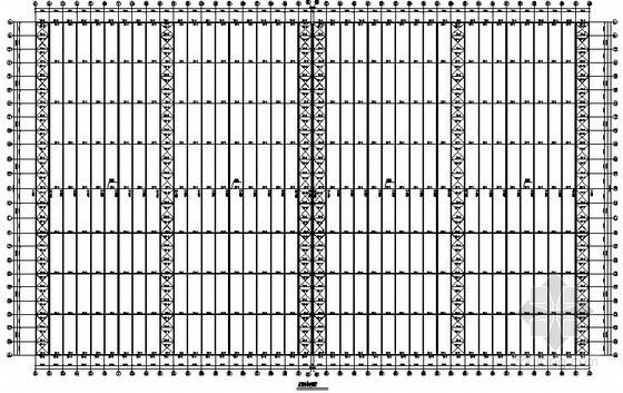 180米跨门式刚架带吊车厂房结构施工图
