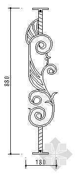 铁艺栏杆详图31