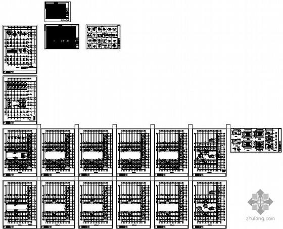 重庆某学院学生宿舍框架结构设计图