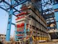 9F级立式余热锅炉模块吊装施工工法(单列式8点同步提升法)