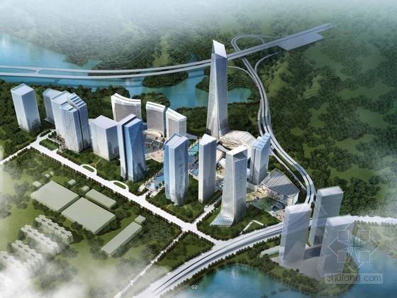 [深圳]商业区规划及单体设计方案文本
