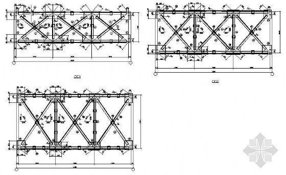 某轻钢吊装厂房结构施工图