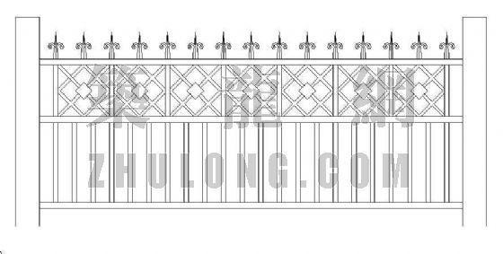 铁栅围墙-3