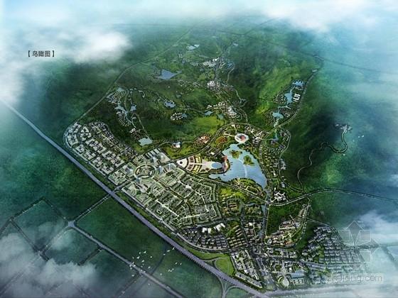 [合肥]城市温泉旅游度假区总体规划设计方案