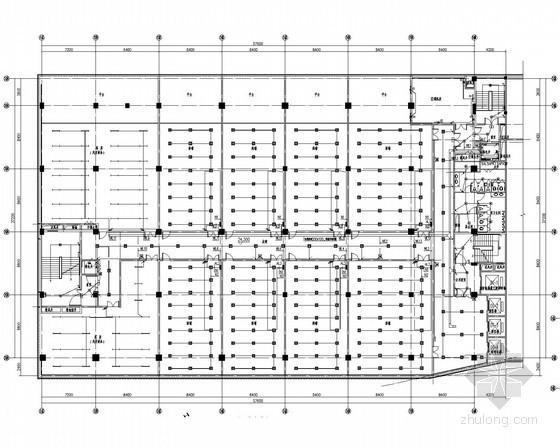 [湖北]文化旅游区商业改造项目电气施工图(甲级院设计)
