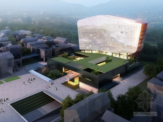 [四川]现代风格文化主题酒店建筑设计方案文本