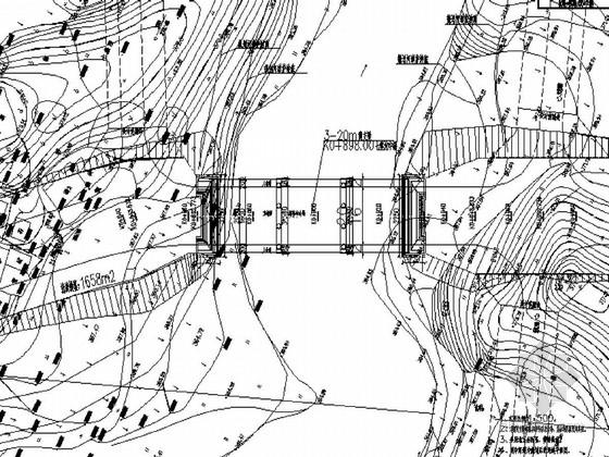 [重庆]3-20m后张法预应力空心板桥施工图44张(知名大院)