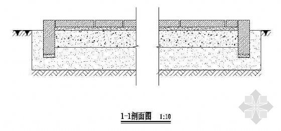 青石板铺装施工图