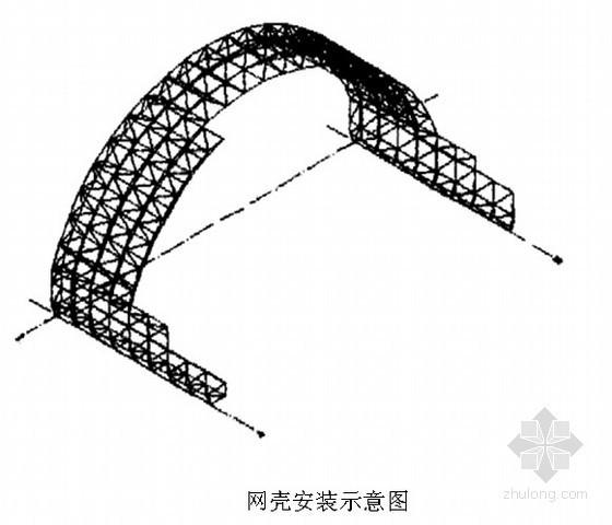 [江西]水泥厂网架工程施工组织设计(双层柱面网格)