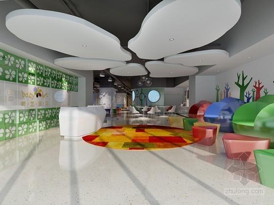 幼儿园教室3D模型下载