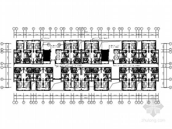 [苏州]现代风格国际酒店公寓局部室内设计图