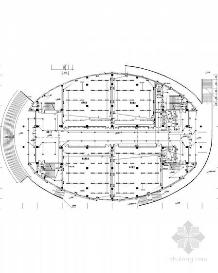 [湖南]2014高校艺术体育中心及综合楼电施图104张(审图意见 新火规)